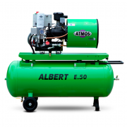 Компрессор винтовой ATMOS ALBERT E100 Vario-R - 10 бар