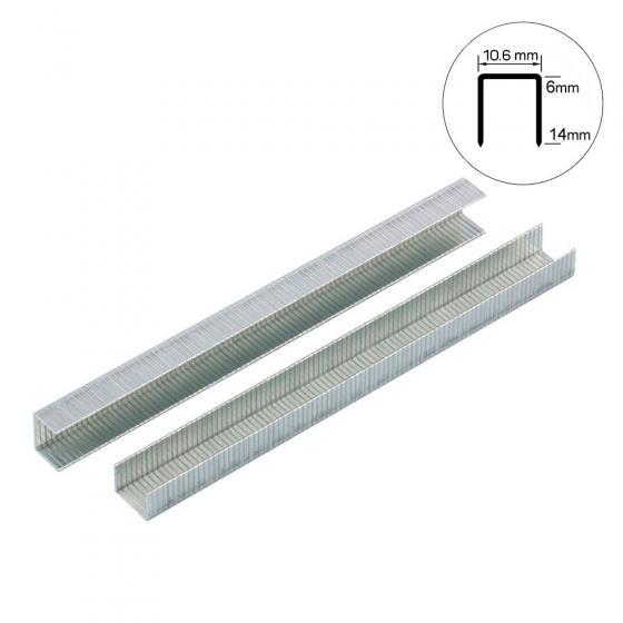 Скоба тип 140-10 мм Gross для степлера усиленная, 1250 шт