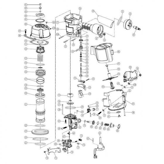 Контактный рычаг (№51) для FROSP CN‑80