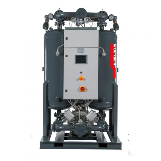 Осушитель воздуха DALGAKIRAN DryAir DBP-3600 адсорбционного типа с горячей принудительной регенерацией