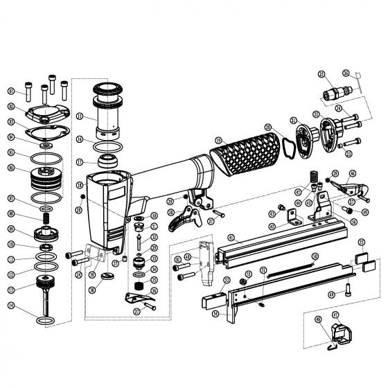 Сальник (№38) для FROSP K‑8016B