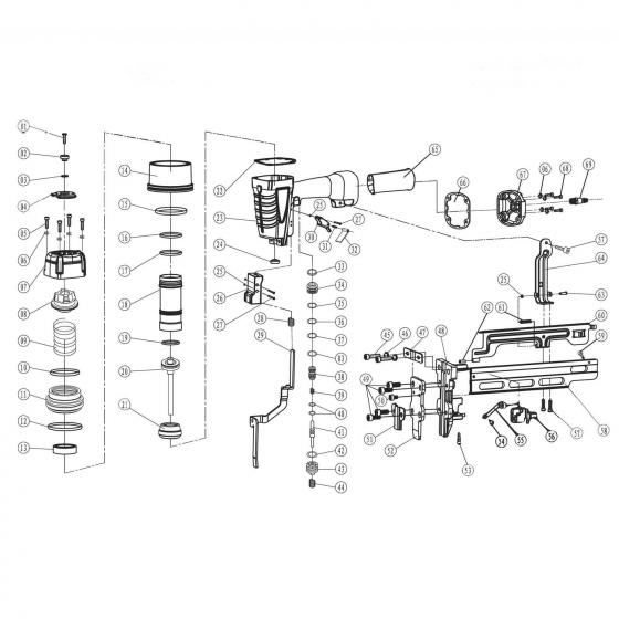 Амортизатор (№21) для FROSP K‑N851