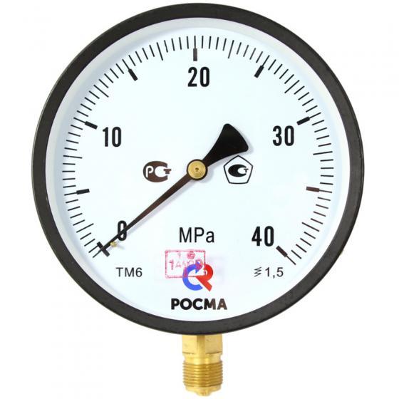 Манометр ТМ-510Р.00(0-40МРа)G1/2.1,5 *