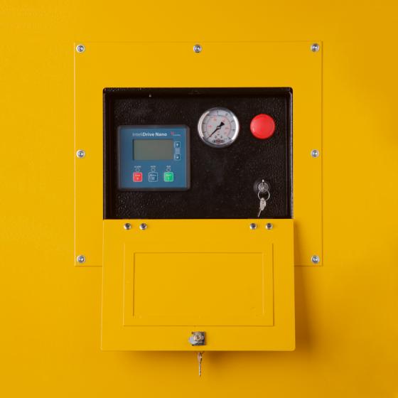 Компрессор передвижной ATMOS PDP 190 - 8.6 бар (регулируемая ходовая часть)