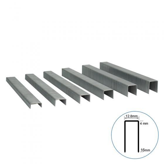 Мебельная скоба 80A/08 усиленная, 12.8х08 мм, 18200шт / Техмаш